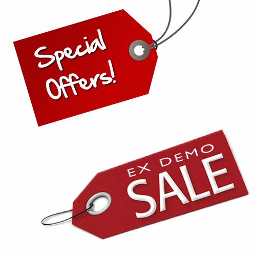 Offerte Speciali e prodotti Ex-Demo